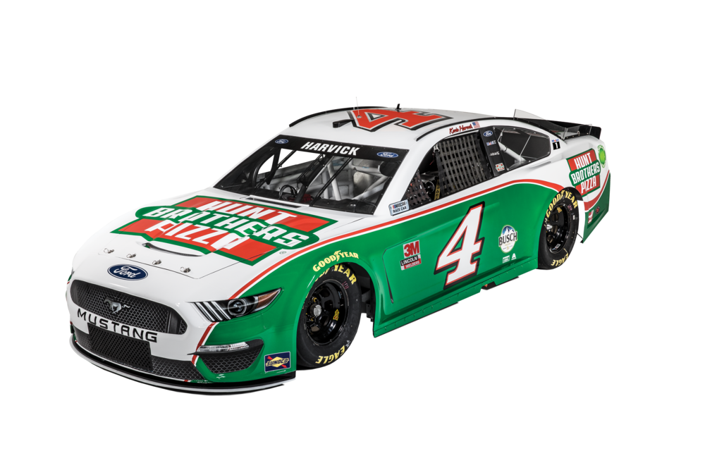 Hunt Brothers Pizza Harvick Car