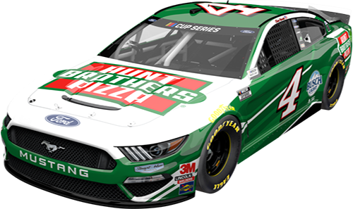 No. 4 Hunt Brothers Pizza Mustang